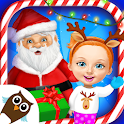 Sweet Baby Girl Christmas 2 icon