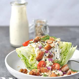 Pork Belly Wedge Salad.