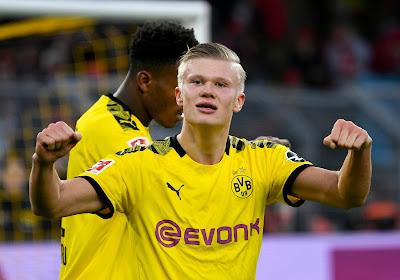 Le Borussia Dortmund vainqueur facile de Francfort, Haland à nouveau buteur !