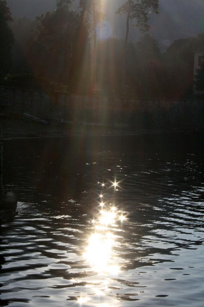 polvere di stelle sul lago di stella