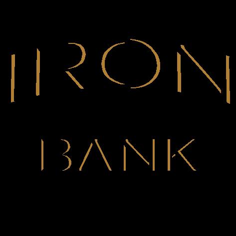 Logo for Iron Bank Coffee Co.