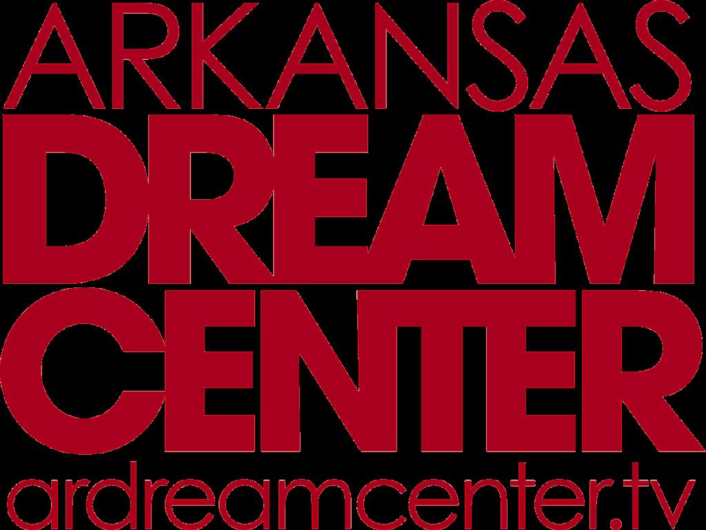 Logo that read Arkansas Dream Center ardreamcenter.tv