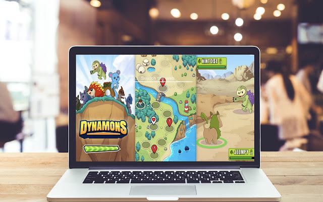 Dynamons World HD Wallpapers Game Theme