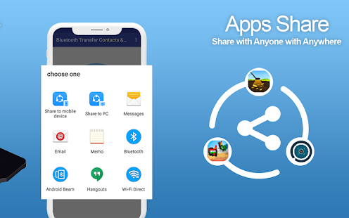 App Bluetooth Transfer Contacts & Share App APK for Windows Phone