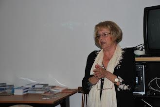 Photo: Prezentace výukového dokumentu o koncentračním táboře Auschwitz-Birkenau a o holocaustu na celostátním setkání pracovníků vědeckých knihoven České republiky v Ostravě (Židovská obec v Ostravě, čtvrtek 11. 10. 2012).