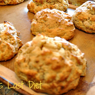 Pear Ginger Snap Scones