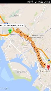 Honolulu Transit Info screenshot 1