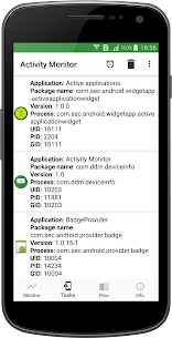 Activity Monitor: Task Manager v1.22 [Pro] 2