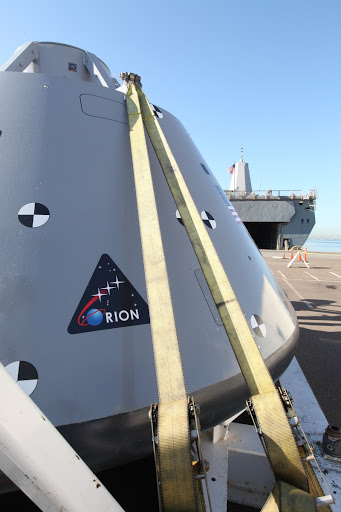 Orion Underway Recovery Test 5 (URT-5)