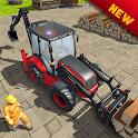 Heavy Excavator Tractor Simulator icon