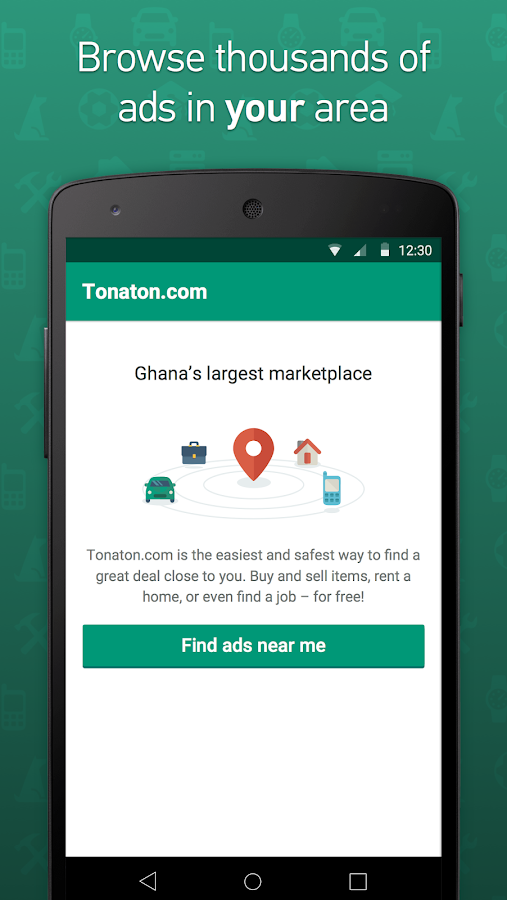 Tonaton -Buy, Sell & Find Jobs- screenshot