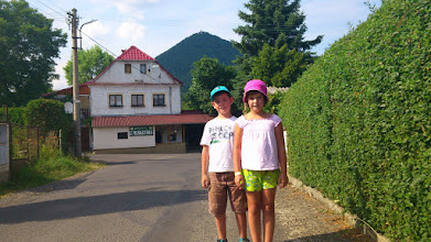 Photo: Nikola a Ondra v Milesove