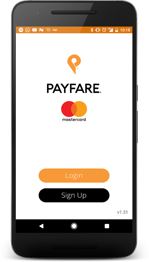PAYFARE- screenshot