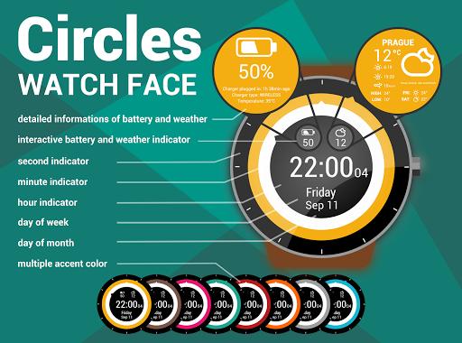 HuskyDEV Circles Watch Face