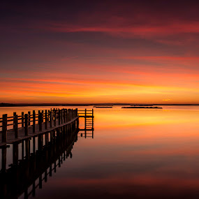 Sunrise in Mourisc by Paulo Mendonça - Landscapes Sunsets & Sunrises