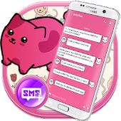 Cute Pink SMS