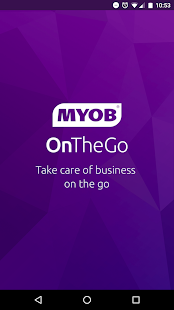 MYOB OnTheGo- screenshot thumbnail