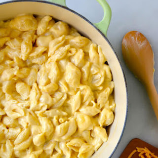 Easy Stovetop Macaroni and Cheese.