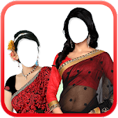 Women Saree Photo Maker New