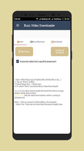 Video Downloader for Buzz 2 screenshots 1