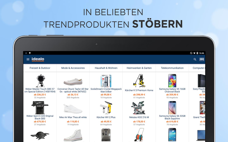 idealo Preisvergleich Shopping - screenshot