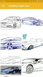 Kreslení super aut - náhled