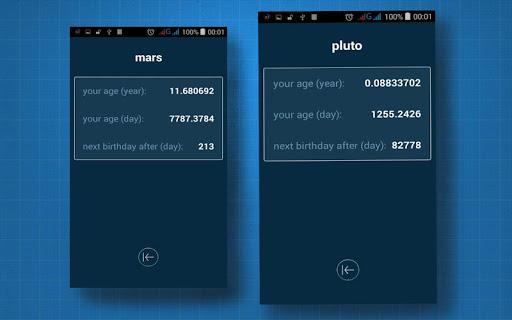 Hitung usia Anda di planet lain 1.3 screenshots 5
