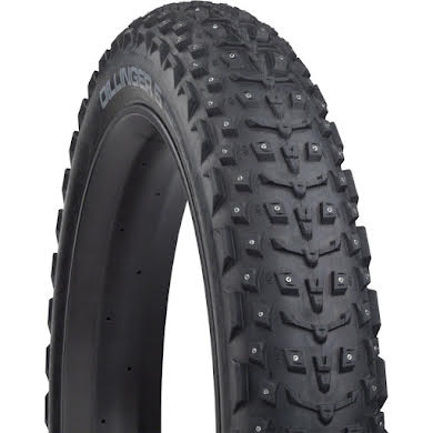 "45NRTH Dillinger 5 Studded Fat Bike Tire: 120tpi 26x4.6"", 258 Concave Studs, Tubeless Ready alternate image 3"