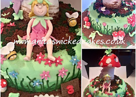 Toad stool and Fairy cake