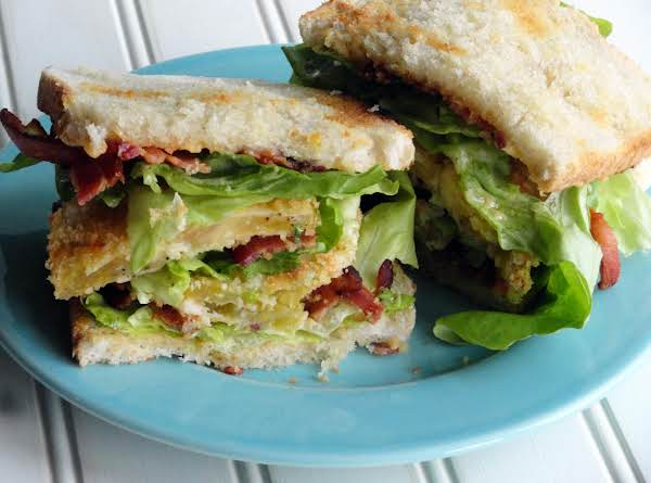 Unfried Green Tomatoes On A Fat Cat Blt!