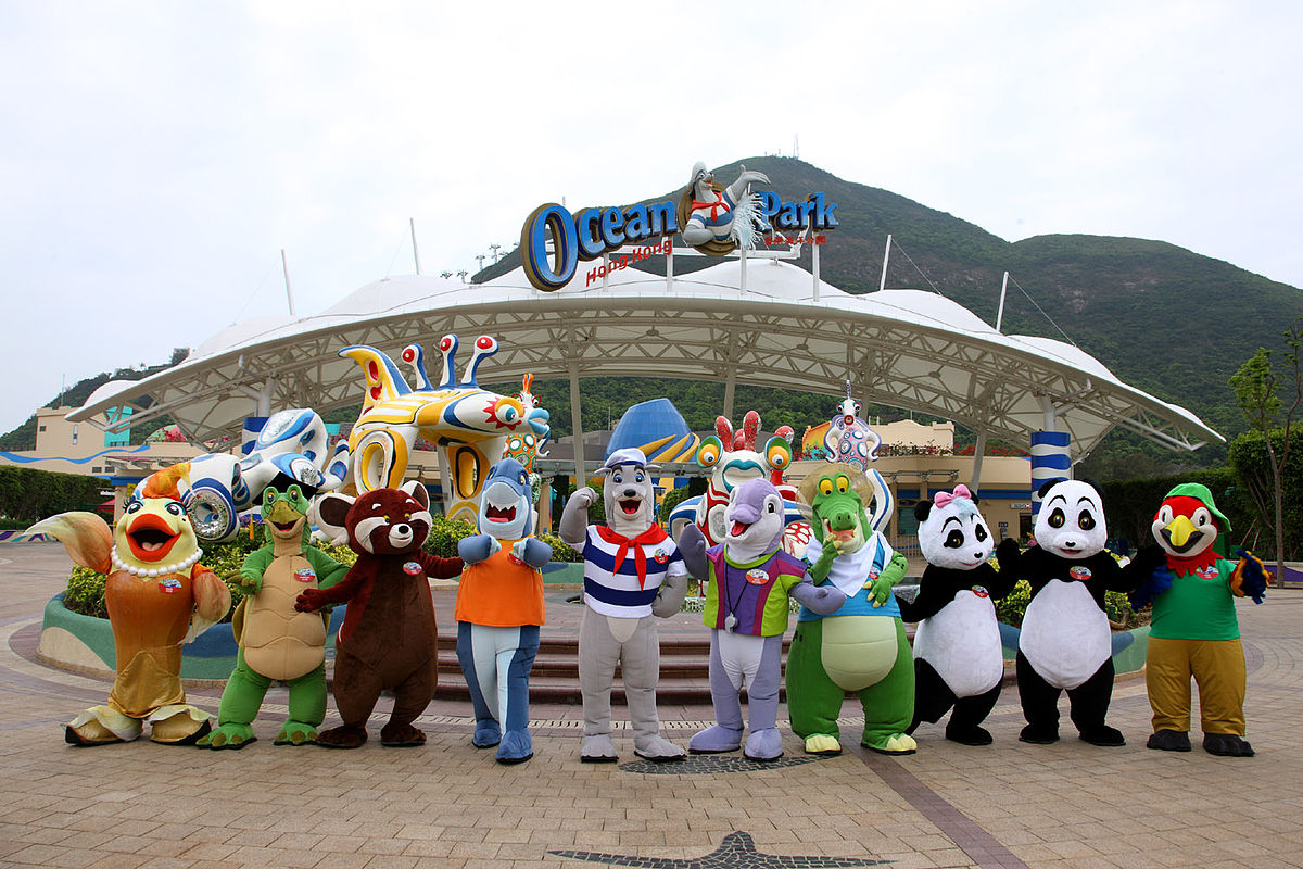 Top 5 Family Friendly Destinations in Asia, Ocean Park, Tokyo