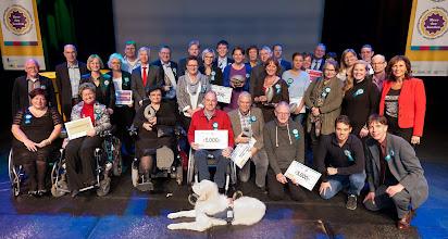 Photo: Groepsfoto winnaar Meer dan handen vrijwilligersprijzen 2014 Foto door http://ruudvandergraaf.nl/
