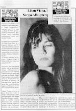 """Photo: """"Miss Brazil USA"""" magazine article - 1995"""