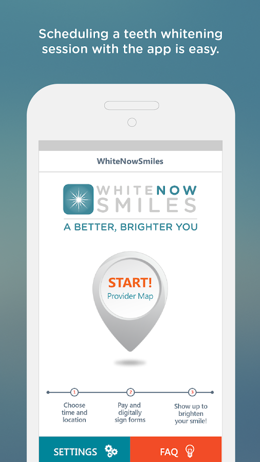 WhiteNow Smiles- screenshot