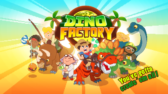 Dino Factory MOD 1.2.2 (Unlimited Money) APK 1