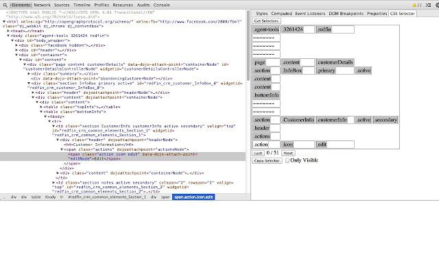 CSS Selector Helper for Chrome™