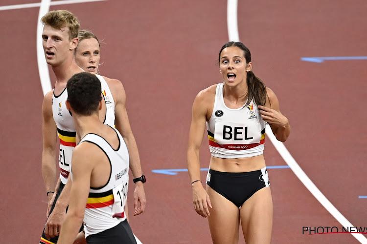 UPDATE: Gemengde 4x400-Belgen zetten nationaal record neer en gaan met zevende tijd naar finale op Spelen