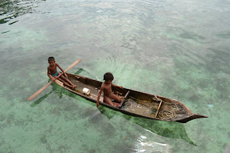 Photo: Kids in a boat