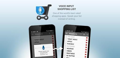 Lista della spesa input vocale