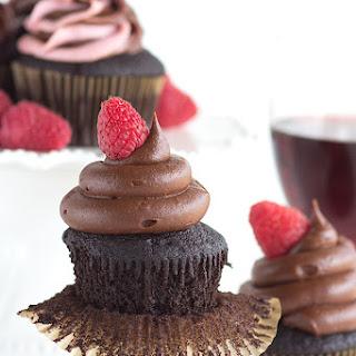 Red Wine Chocolate Cupcakes
