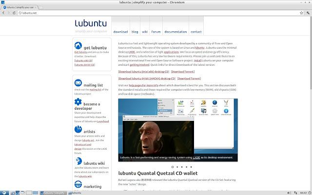 Lubuntu Scrollbars