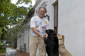 The dream: Mark Solms, a neuroscientist and wine farmer, on his Solms-Delta estate outside Franschhoek. Picture: FINANCIAL MAIL/TREVOR SAMSON