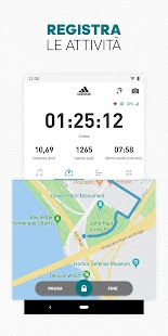 adidas Running by Runtastic - Corsa e Fitness Screenshot