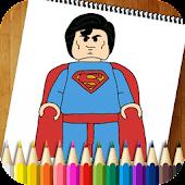 Coloring Book Superheroes