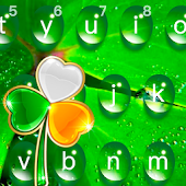 Green Water Drops Dew keyboard