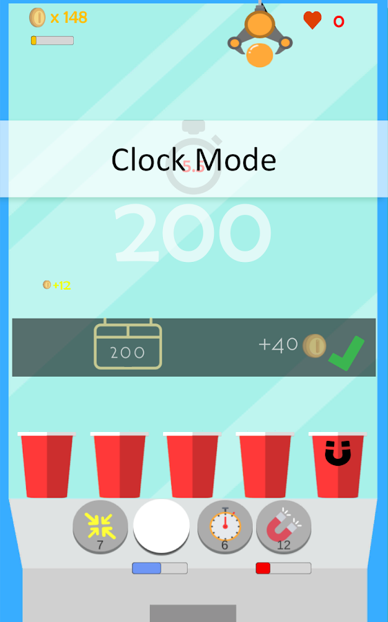 Cup Hero - Ball Drop Game- screenshot