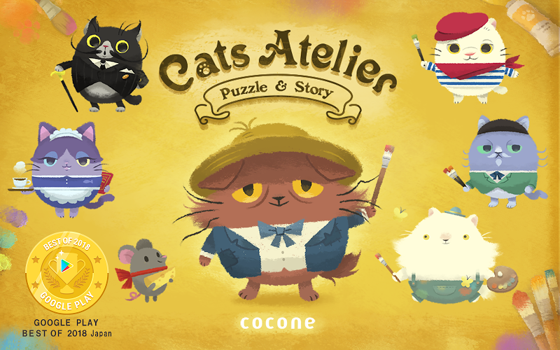 Cats Atelier -  A Meow Match 3 Game Screenshot 6