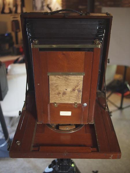 Photo: Carlton 10x12 View Camera. 1895.
