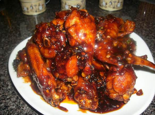 Korean Sweet, Spicy & Sticky Wings Recipe