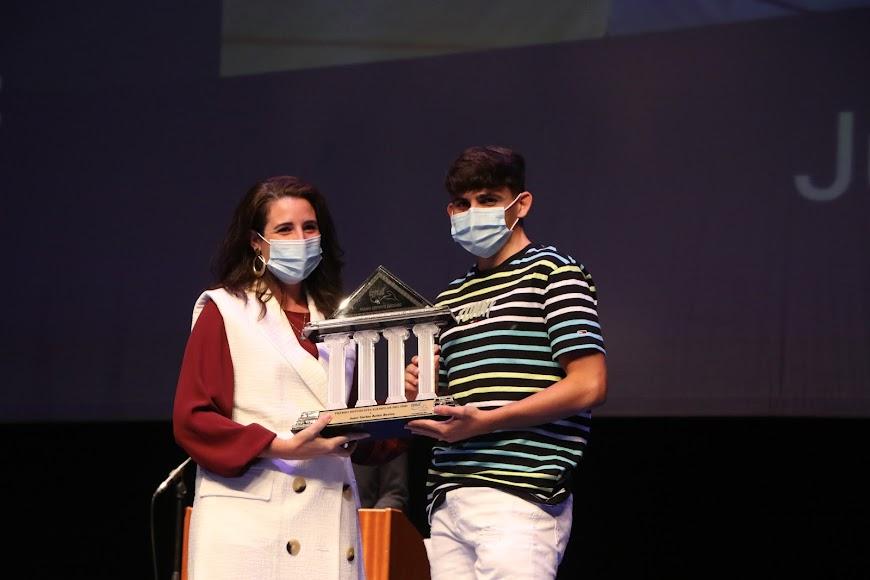 Juan Carlos Acién recibió el Premio Deportista Ejemplar del IMD